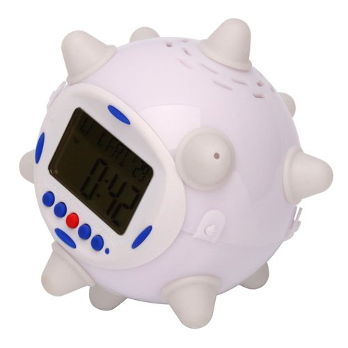 Colorful Light Dancing Alarm Clock Thermometer Countdown Calendar