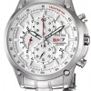 Festina Men's Stainless Steel White Dial Day Date Chronograph Watch F68171