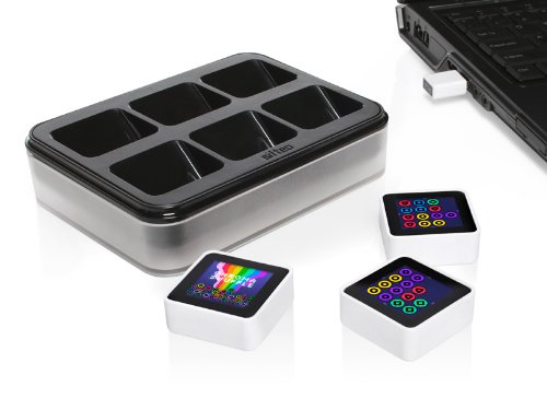 Sifteo Interactive Game Cubes - Sifteo 3-pack w/ Charging Cradle