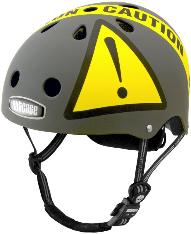 Nutcase Urban Caution Matte Bike Helmet