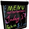 LED writing Board led open signs Lighted Menus Signs Flashing Advertising
