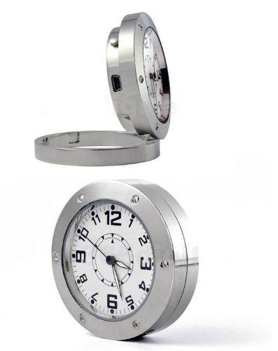 Hidden Spy Camera DV Clock Watch Motion Detection