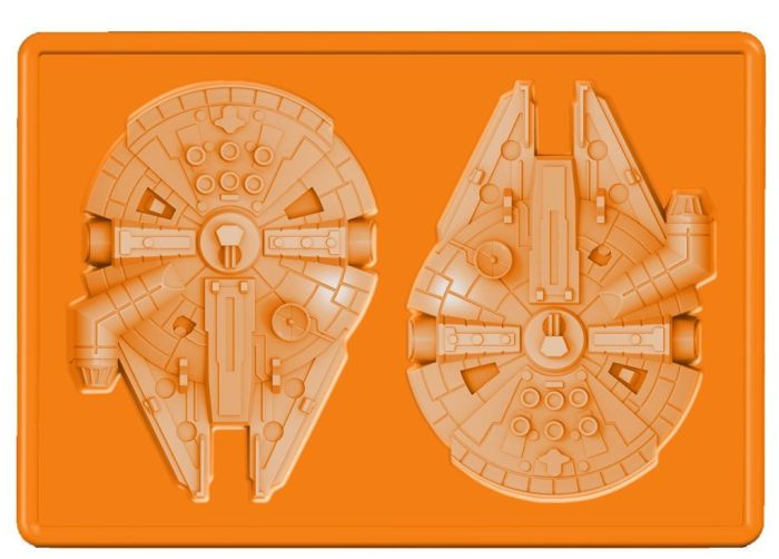 Star Wars Millennium Falcon Silicone Ice Tray