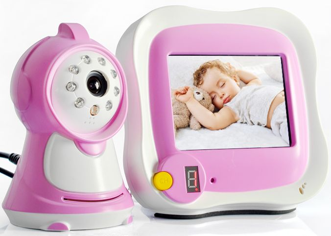 Wireless Night Vision Baby Monitor with 3.5 Inch Monitor