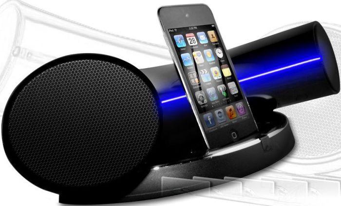 Speakal IKURV-BLK-01 2.1 Stereo Docking Station and Speaker System