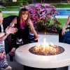 Fire Pit Fire Pit Table with Ice Bucket Insert