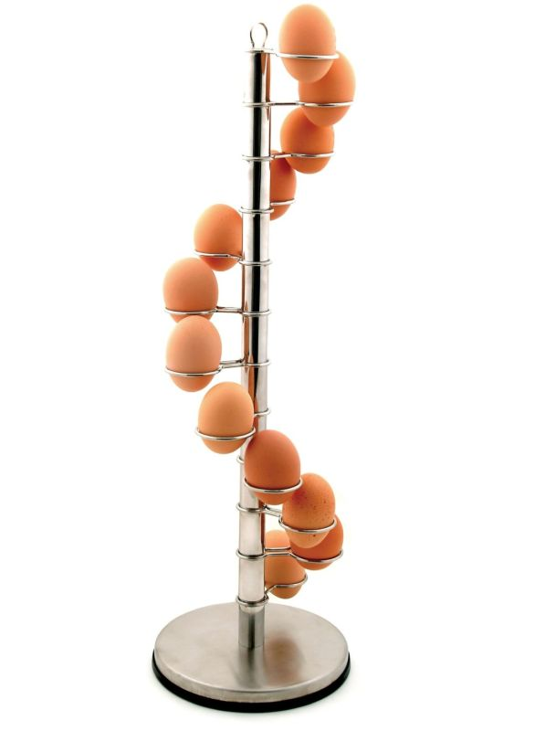 Spiral Egg Holder for 12 Eggs