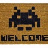Space Invader WELCOME mat