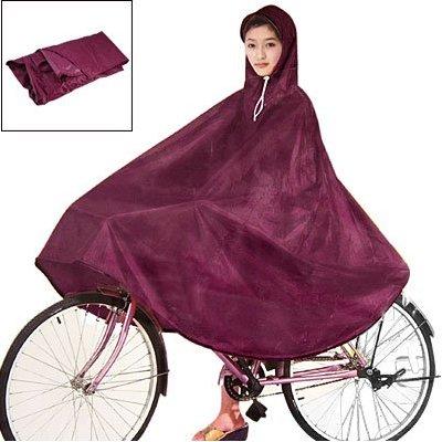 Red Cycling Bicycle Bike Raincoat Rain Cape