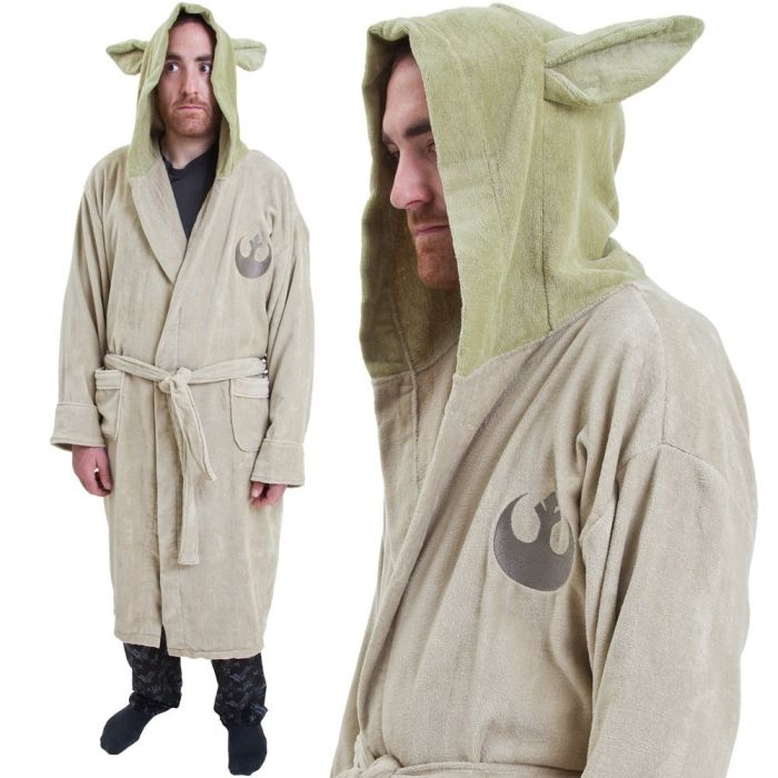Yoda Cotton Bathrobe
