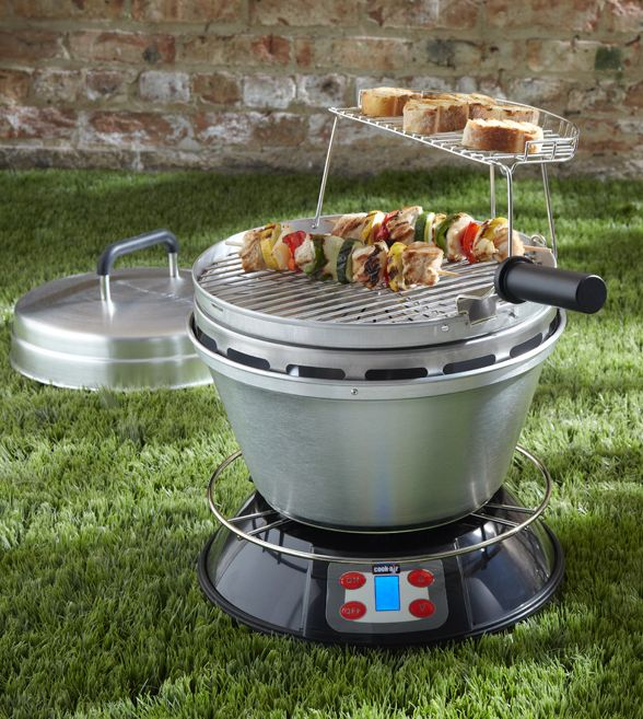 Portable Wood-Fire Grill