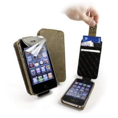 Western Leather Collection In-Genius Case cover & Screen Protection