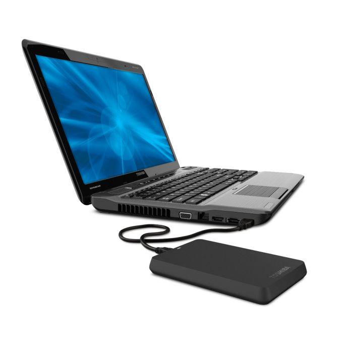 Toshiba 320GB Toshiba Canvio Basics 3.0 Portable Hard Drive in Black