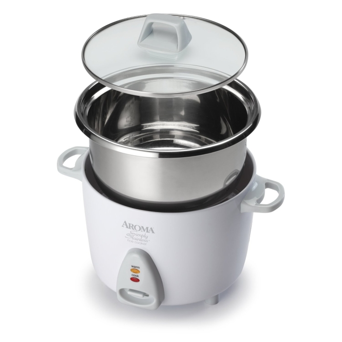 6-Cup (Cooked) Simply Stainless Rice Cooker
