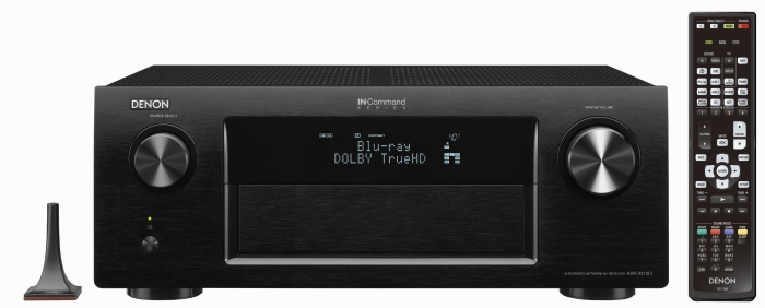 Networking Home Theater Receiver with AirPlay and 3 Zone Capacity