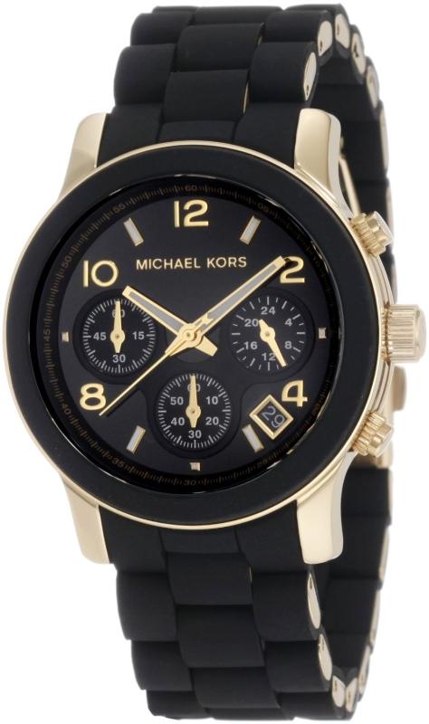 Black Dial with Black Goldtone Bracelet