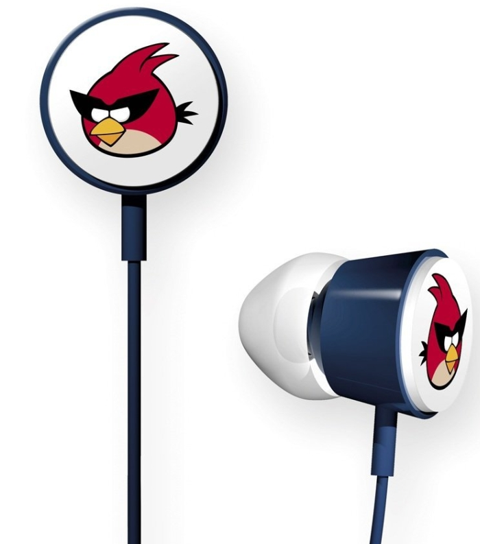 Angry Birds Space In-Ear Stereo Headphones