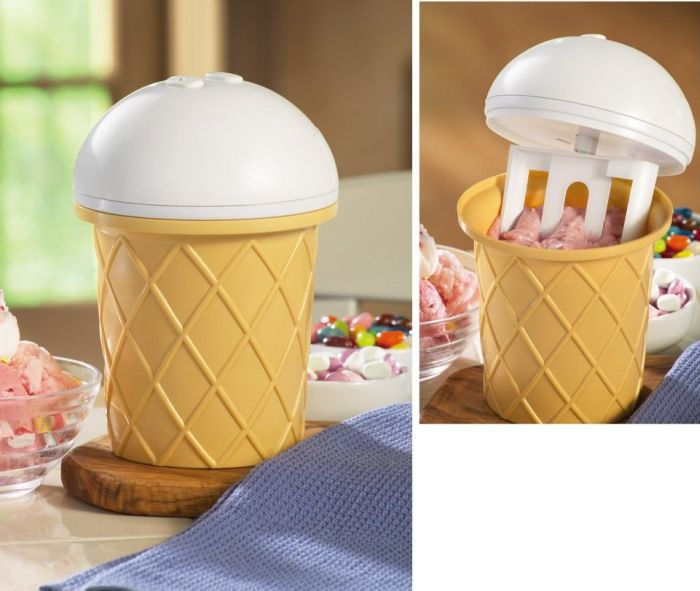Automatic Homemade Ice Cream Maker Machine
