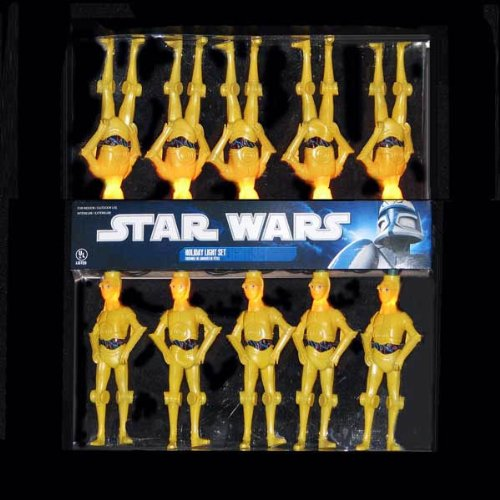 Star Wars C3PO Full Figure Light Strand Robot Space