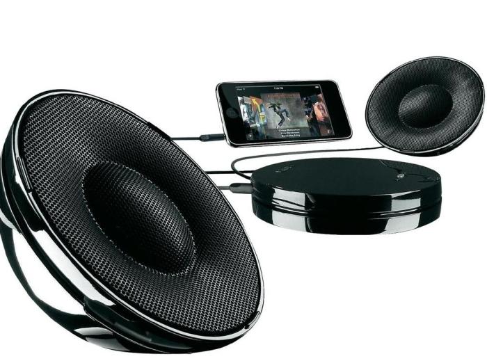 Philips SBA1520/00 Black Universal Portable Speakers