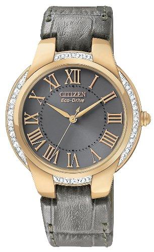 Women's EM0093-08H Ciena Eco-Drive Rose Gold Tone Watch
