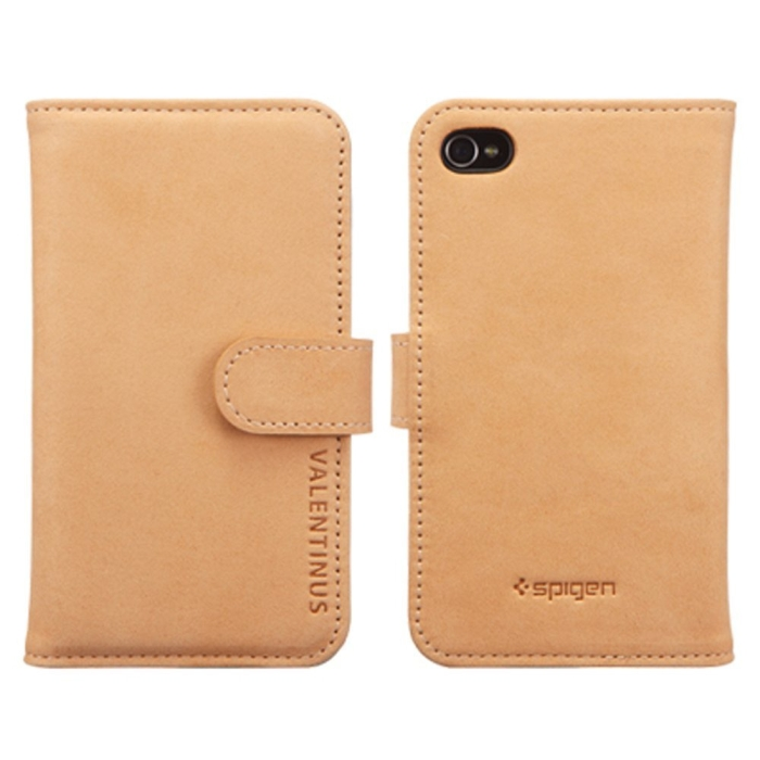 Valentinus Leather Wallet iPhone 4S Case
