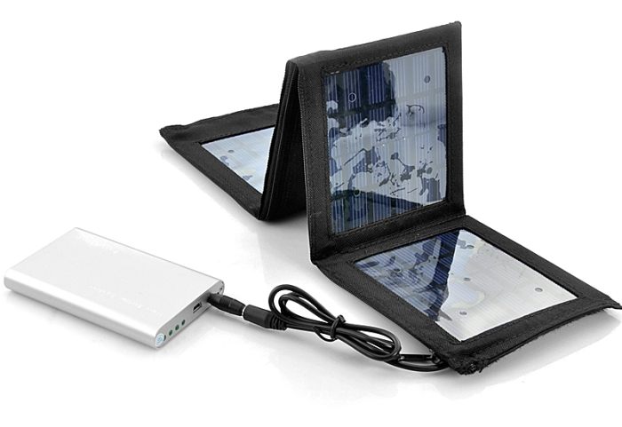 Portable Solar Charger and Battery