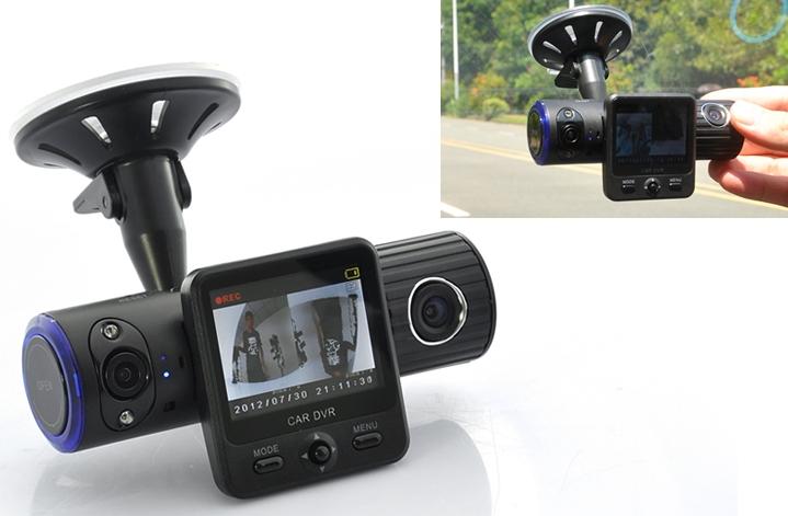 Dual-Camera Car DVR