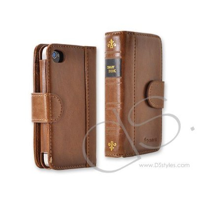 Retro BookBook Series iPhone 4 and 4S Leather Case