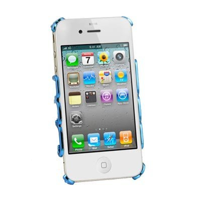 Blue Hard Back Cover for iPhone 4S/4