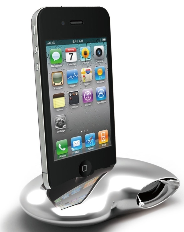 Sigma Stand & Amplifier for iPhone 4/4S