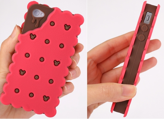 Disney MobiMore Biscuit Silicone Case for iPhone 4S/4