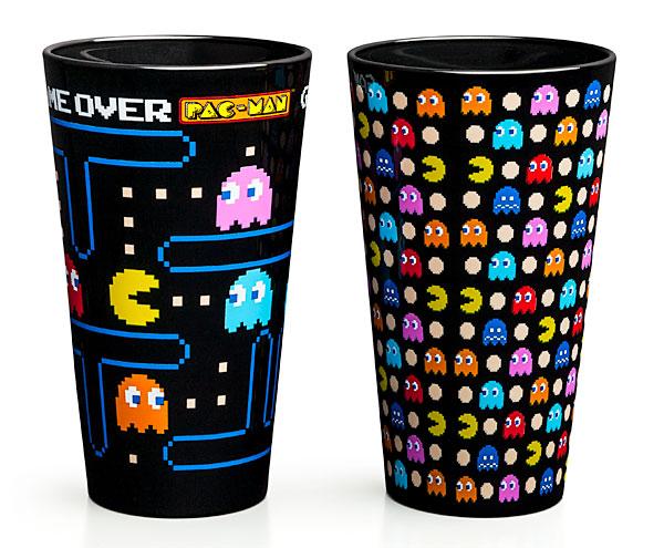 Pac-Man Pint Glass 2-Pack