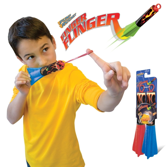 Pump Rocket Finger Flingers