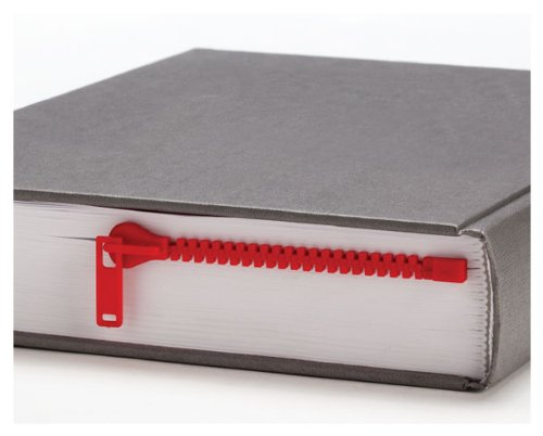 ZIPPER Bookmark Book Page Holder