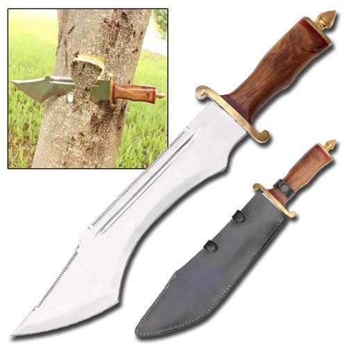 Edge Ripper Double Sawback Bowie Knife