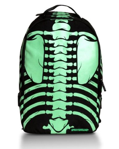 The Bones Glow in the Dark Deluxe Backpack