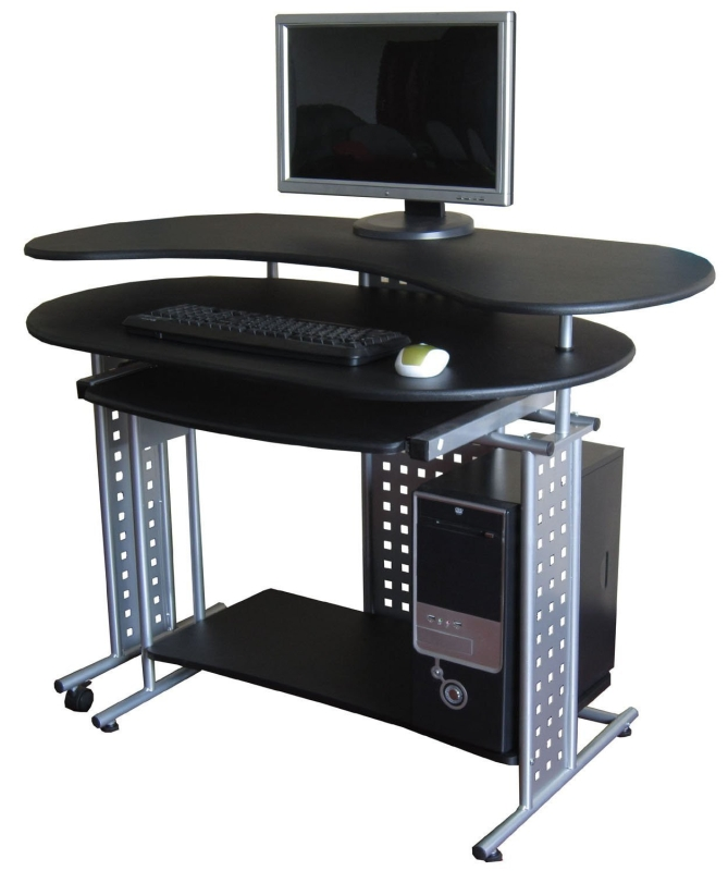 "Regallo Expandable ""l"" Computer Desk"