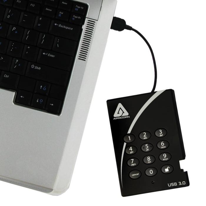 Apricorn Aegis Padlock 1 TB USB 3.0