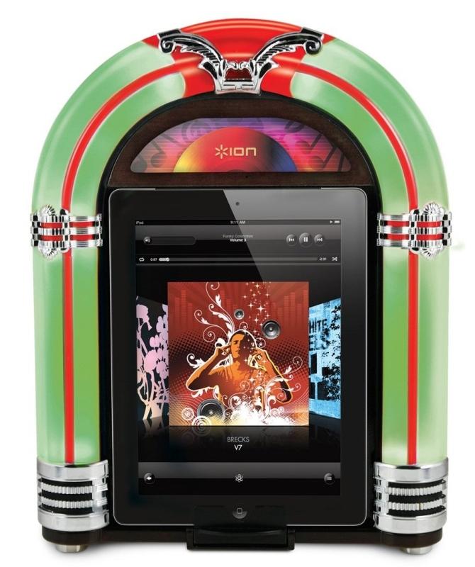 Ion Jukebox Dock iPad Speaker
