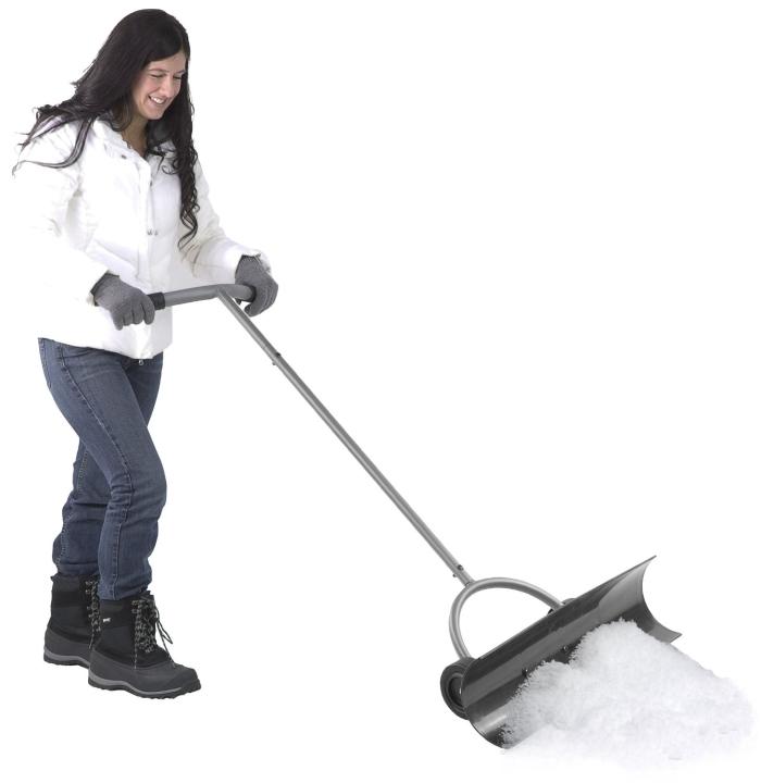 Flip Shovel With Bi-Directional Snow Blade