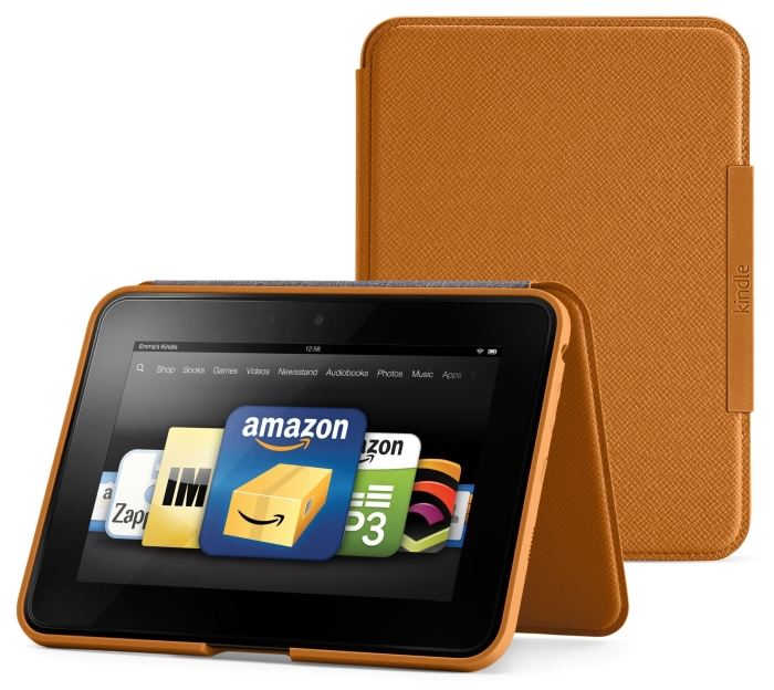 "Kindle Fire HD 7"" Standing Leather Case"