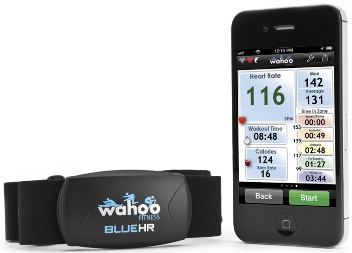 Fitness BLUE HR for iPhone 4S and iPad