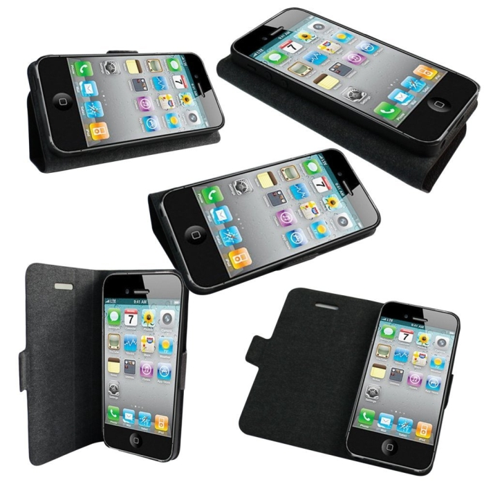 Premium Flip Folio Case for iPhone 5