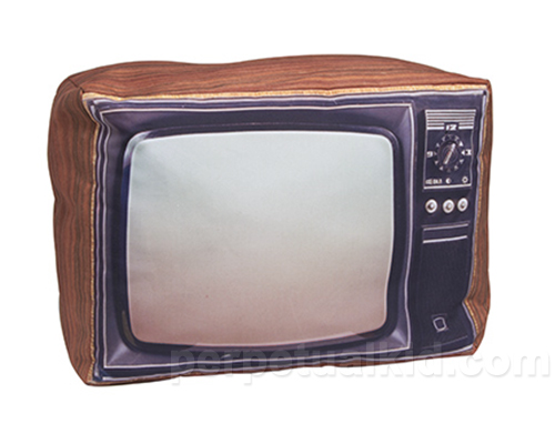 RETRO TELEVISION PILLOW