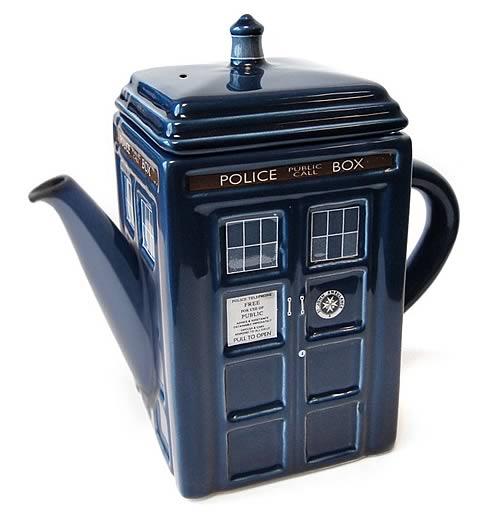 Doctor Who TARDIS Ceramic Tea Pot