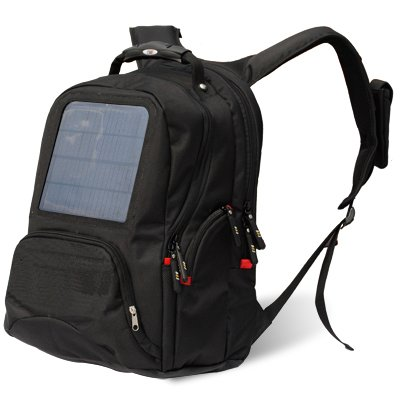 Solar Charge Laptop Backpack Bag