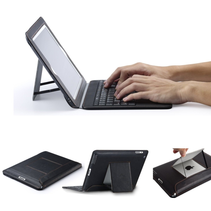 New iPad Bluetooth Keyboard Case