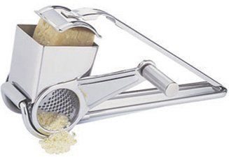 Strauss Stainless Steel Rotary Cheese Grater