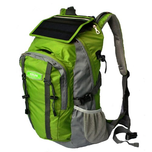 Solar Charge Backpack Bag